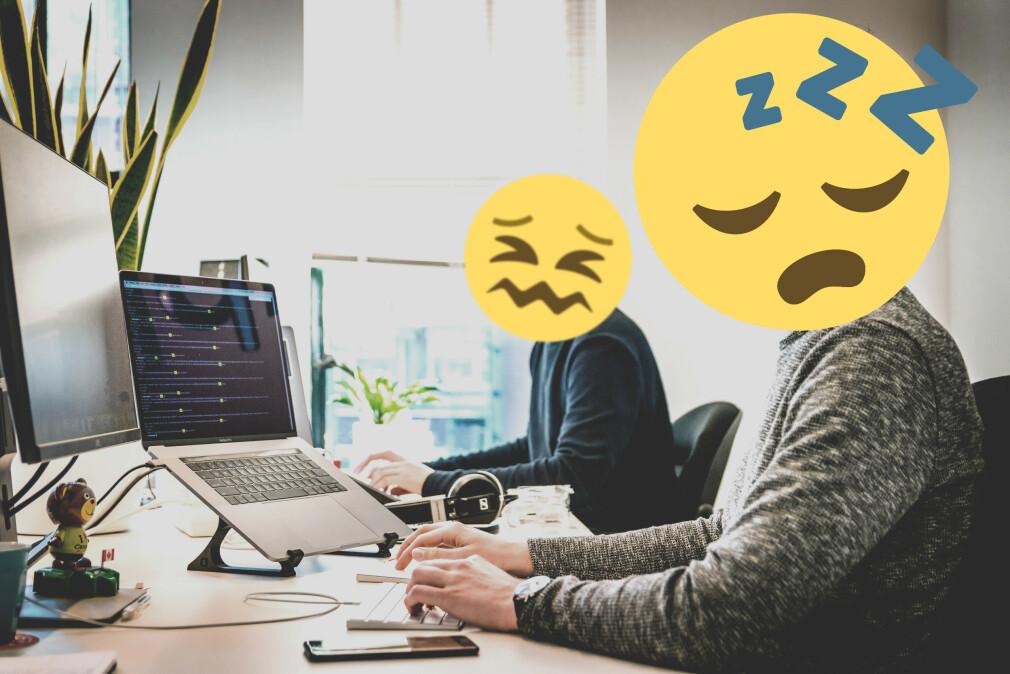 Det er masse greier utviklere må gjøre på jobb som er superkjedelig. Føre timer, for eksmepel. 📸: Tim van der Kuip / Unsplash / Ole Petter Baugerød Stokke
