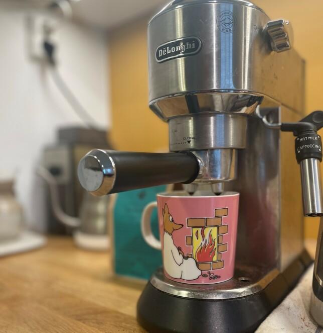 - Jeg pleier å stå opp tidlig. Lage meg en god kopp kaffe og høre på radio og slappe litt av, forteller Ragnhild Aaraas Hånde i Forte Digital. 📸: Privat