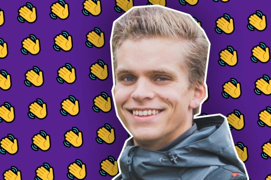 Andreas Grahn (26) er ny seniorutvikler i Forse.