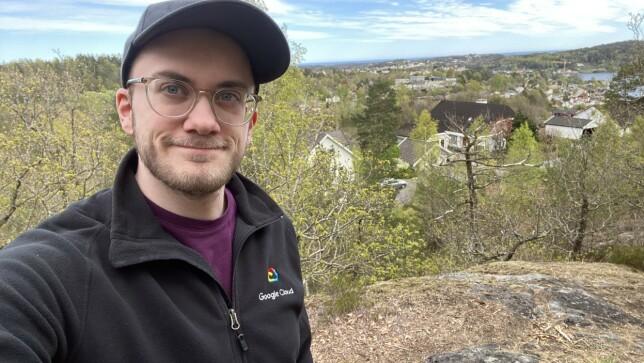 Trym Nilsen er utvikler i Shortcut, og jobber mye med Android. Her oppsummerer han årets presentasjon av Google-nyheter. 📸: Privat
