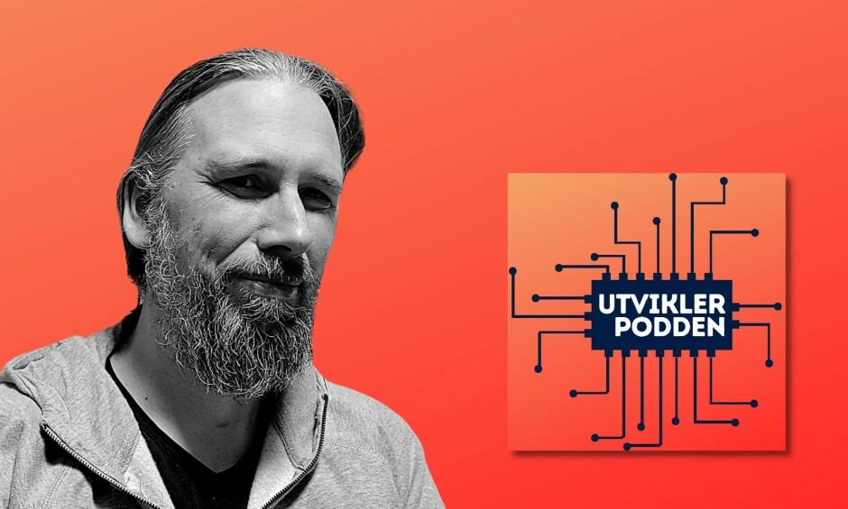 Utviklerpodden er en ukentlig norsk podcast, med ny episode hver torsdag. 📸: Privat