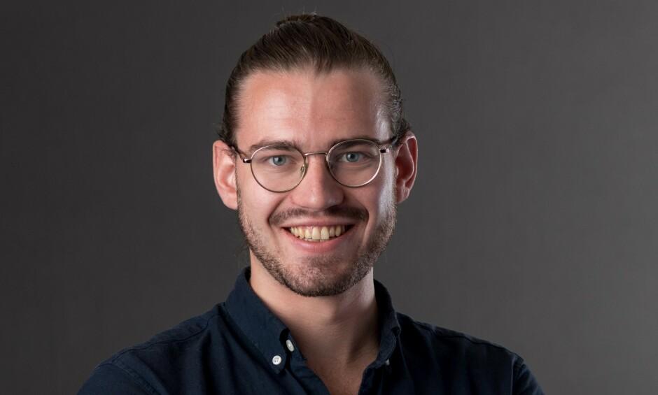 Øyvind Aukner er utvikler I Capra Consulting og Tailwind-entusiast. 📸: Privat