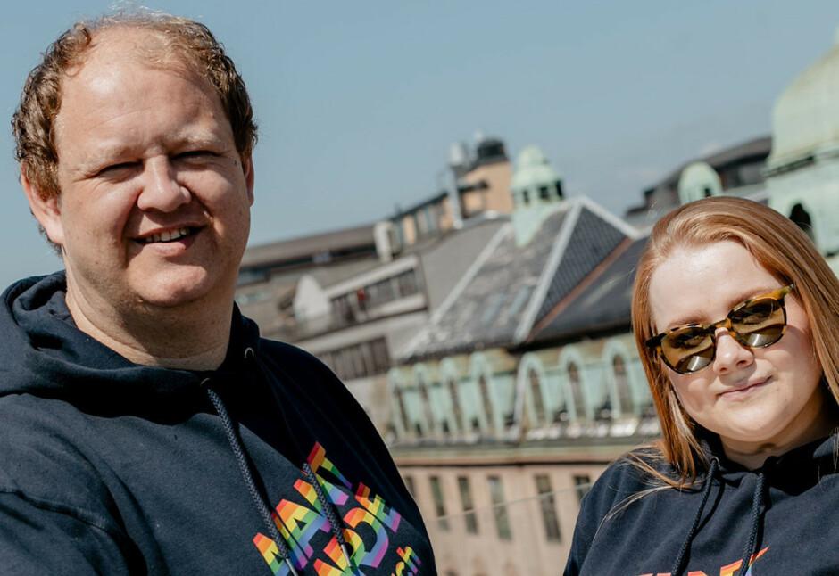 Medgrunnlegger i det norske rekrutteringsselskapet AvantGarde Search, Erik Falk Hansen, mener man bør passe seg for useriøse aktører i rekrutteringsbransjen. Her med talentspeider i AvantGarde Search Lotte Gjørvik. 📸: Privat