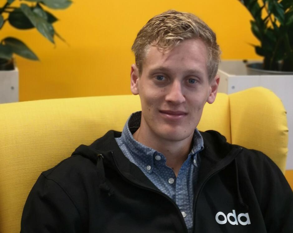 Anders Liland er Software Engineer i Cloud Platform-teamet til Oda. 📸: Privat