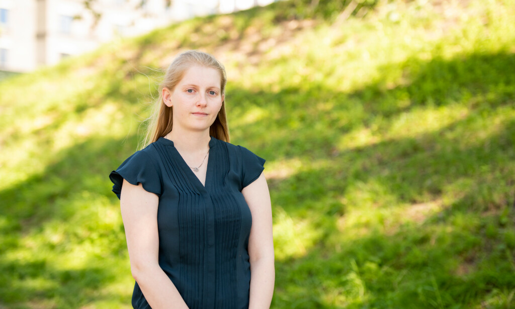 Studentleder Linn Robin Andersen er kritisk til at studieplasser overbooker elever. 📸: Privat