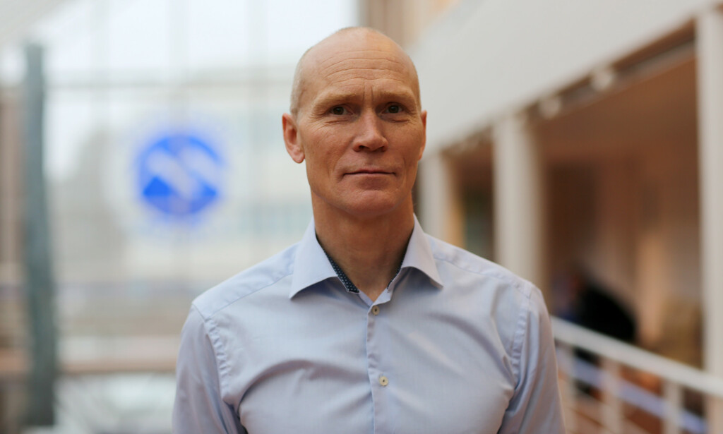Rektor Steinar Kristoffersen ved Høgskolen i Molde. 📸: Høgskolen i Molde