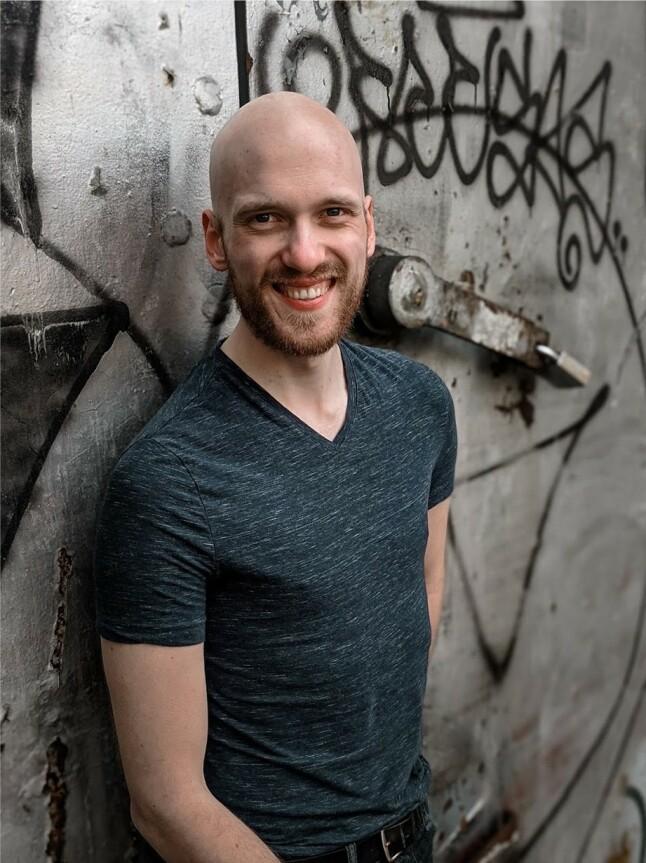 Fullstackutvikleren Finn Julius Stephansen-Smith. 📸: Privat
