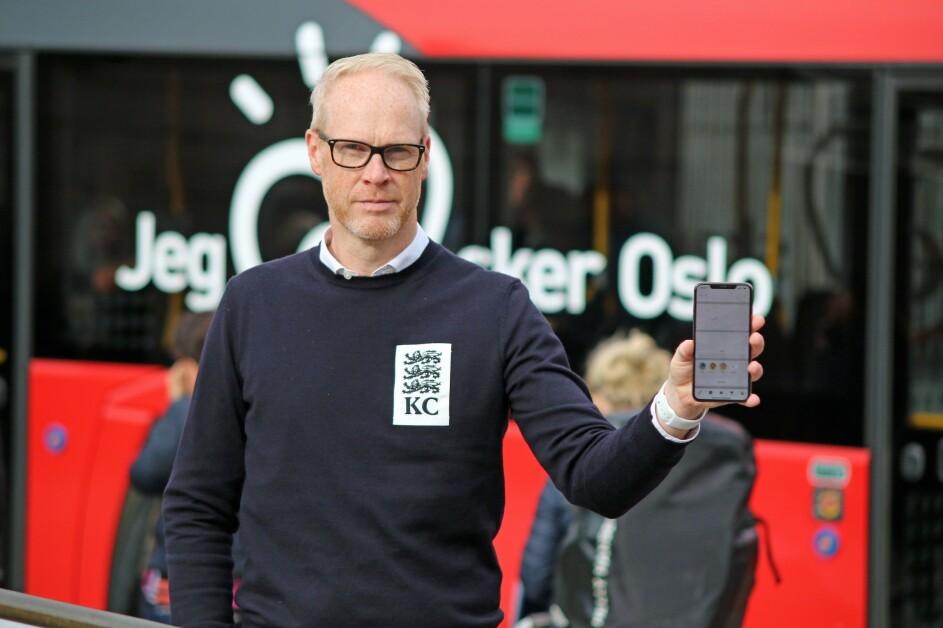 Leder for nye kundetjenester Marius Røstad i Ruter. 📸: Ruter