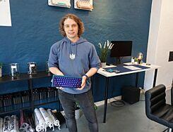 image: Har åpnet egen tastatur-butikk i Oslo