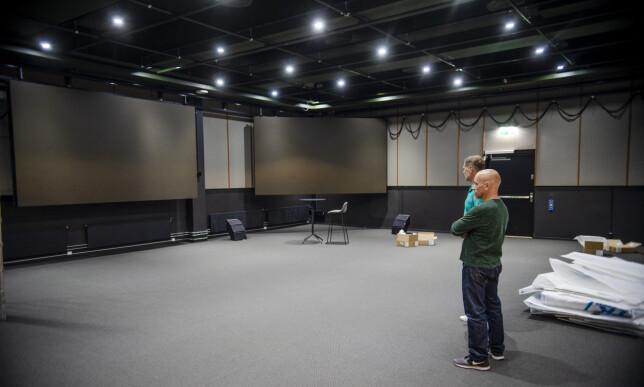 Bygget har kurs og konferanse-senter for 800 mennesker. Foto: Robert S. Eik