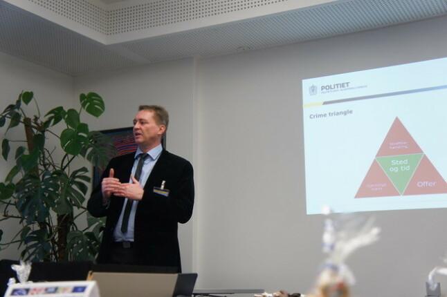 Seniorrådgiver Mats Berg i seksjon Politioperativt i Politiets IKT-tjenester. 📸Privat