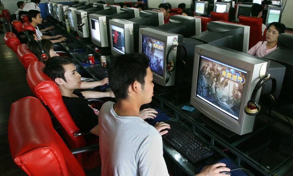 Kinesiske gamere. 📸: Mark Ralston