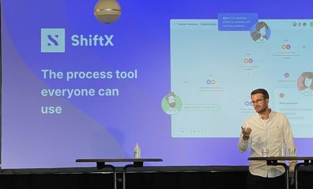 Daglig leder Nikolai Strandskogen i ShiftX deltok i Abelias kunnskapsdebatt under Arendalsuka. 📸: Are Westerink Sandvik / ShiftX
