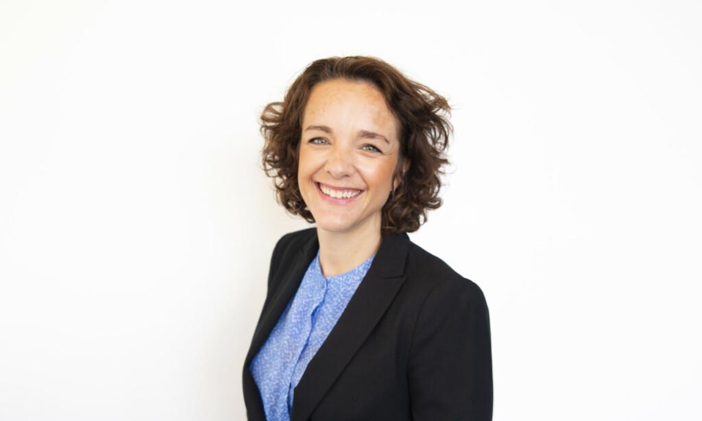 Organisasjonspsykolog Benedicte Fjellanger rådgiver organisasjoner i teambygging gjennom Sopra Steria. Hun mener teambygging ikke fører til et mer effektivt team, men at det kan påvirke det sosiale. 📸: Privat