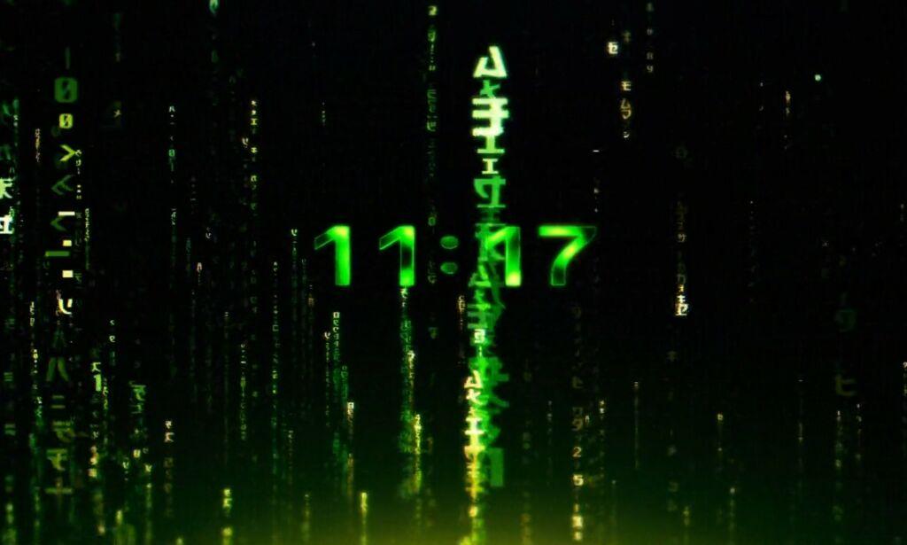 image: Utviklere på Reddit diskuterer kode i nytt Matrix-nettsted