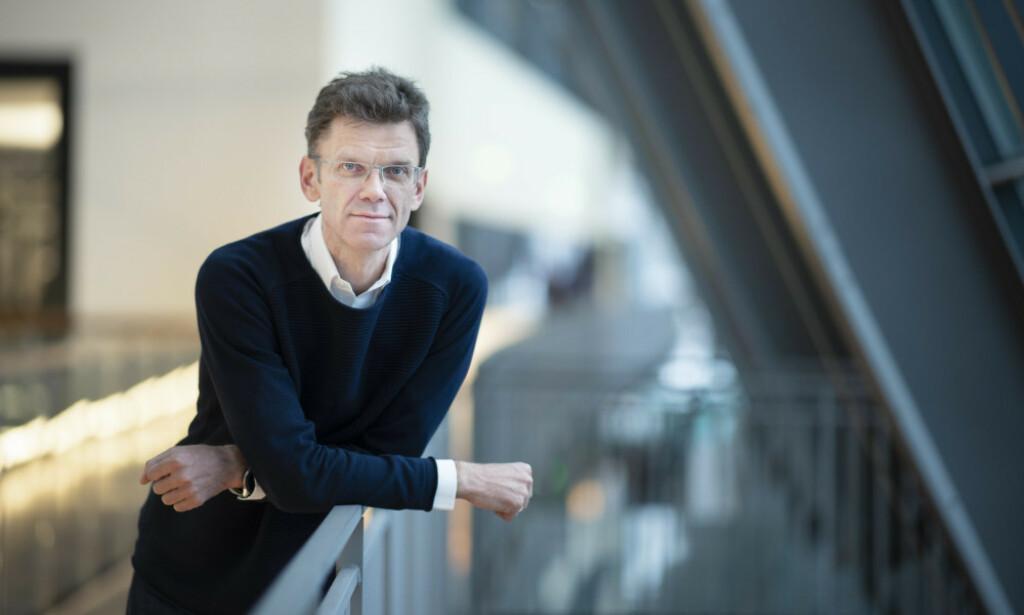 Administrerende direktør Petter-Børre Furberg i Telenor Norge. 📸: Pressemelding Telenor / pressebilde