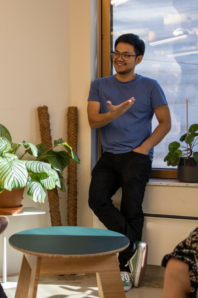 Utvikler Carlo Alfredo Morte i Iterate reagerer på prestasjonspresset en del utviklere møter på arbeidsplassen sin. 📸: Privat