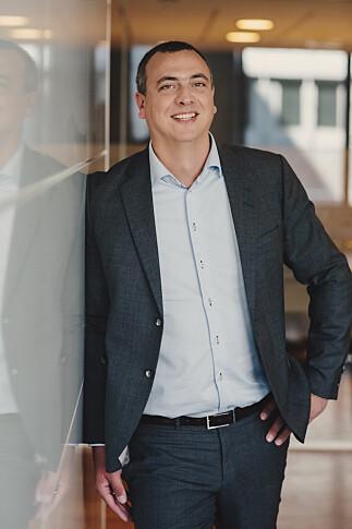 Leder for teknologi og digitalisering Kjetil Thorvik Brun i Abelia. 📸: Abelia/Ilja Hendel