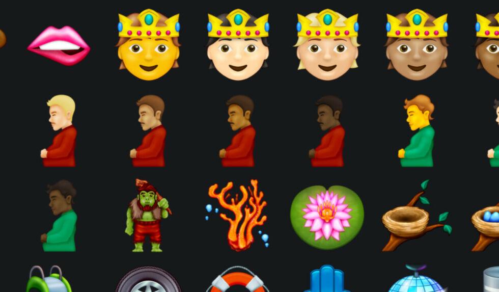 image: Nå kommer det over 30 nye emojis