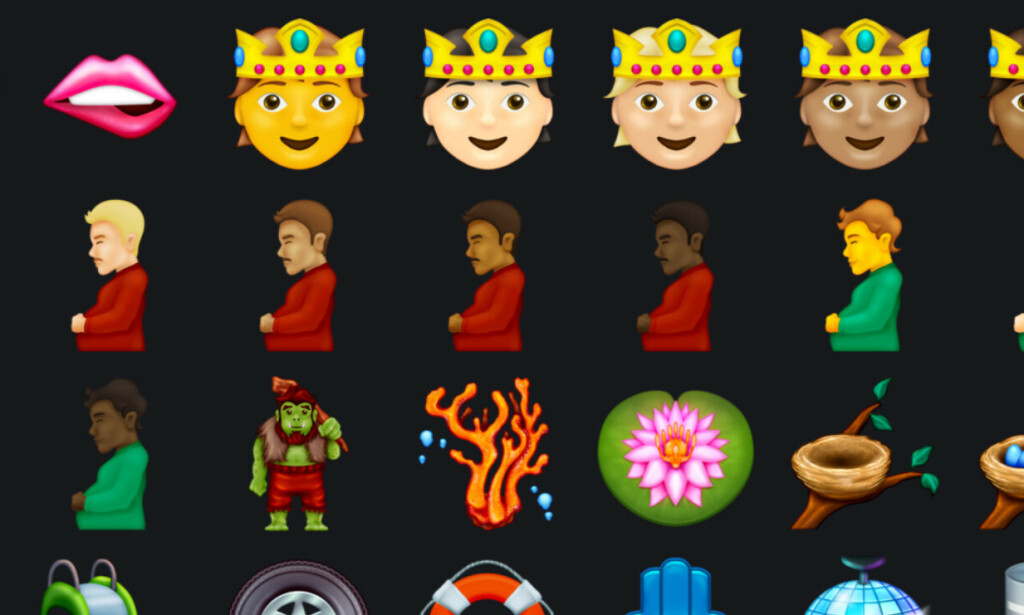 📸: Skjermbilde Emojipedia