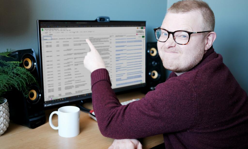 Fagredaktør Jørgen synes det er forvirrende med alle klesplagg-valg for kontorbekledning. 📸: Ole Petter Baugerød Stokke