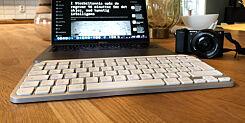 image: Logitech MX Keys Mini er en utfordrer til Magic Keyboard