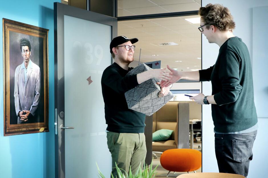 Er det egentlig lurt å bli gode venner med kollegaer? Det lurer fagredaktør Jørgen Jacobsen på. 📸: Ole Petter Baugerød Stokke