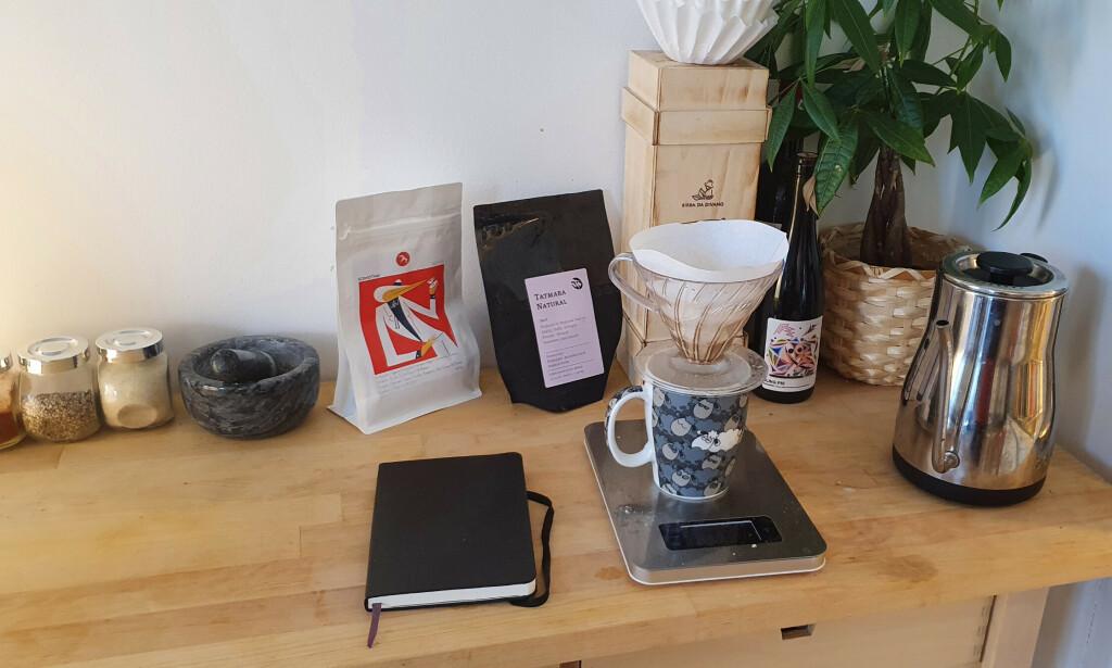 Ukas Koder sitt kaffehjørne! 📸: Privat