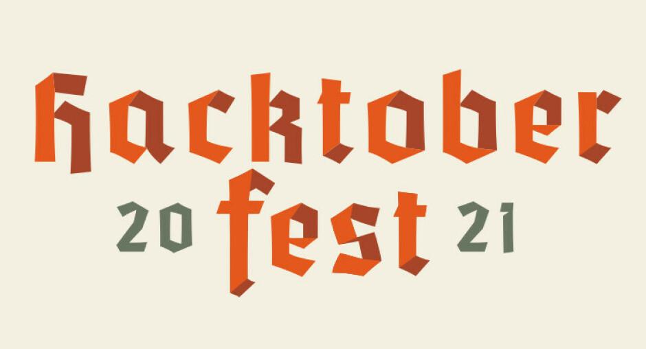Hacktoberfest 2021 er i gang! 📸: hacktoberfest.digitalocean.com