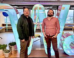image: .NET-utviklerne Alexander og Knut Johan til Webstep