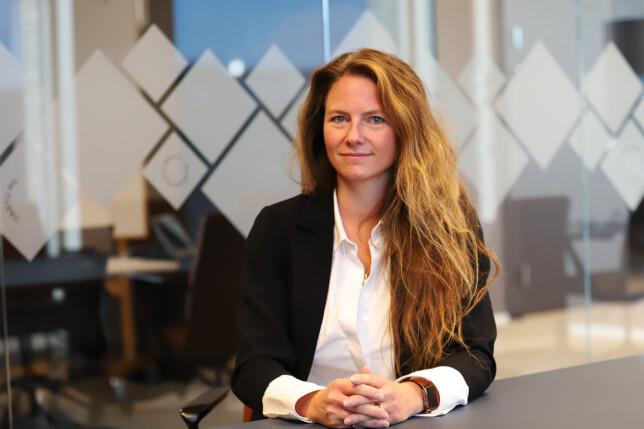 IT-direktør Heidi Brunborg i Lånekassen forteller at de ber utviklerne være på kontoret tre dager i uka framover, for å finne ut hvordan framtida skal se ut. 📸: Hege Aas / Lånekassen