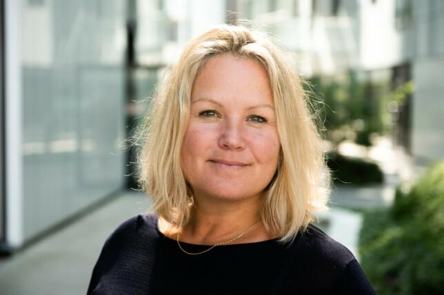 Kommunikasjonsdirektør Henriette Høyer i Bouvet forteller at de må lytte til både ansatte og kunder framover. 📸: Ovidia Eriksen-Hirschberg / Bouvet