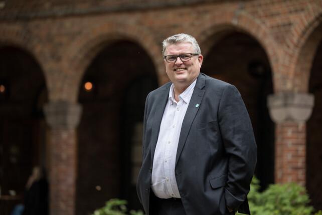 Lars Olav Grøvik, president i Tekna.
